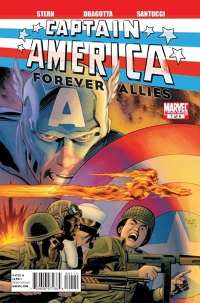 CAPTAIN AMERICA FOREVER ALLIES